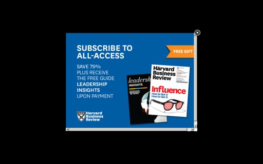 Access hbr.org using Hola Unblocker web proxy