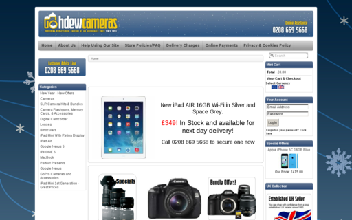 Access hdewcameras.co.uk using Hola Unblocker web proxy