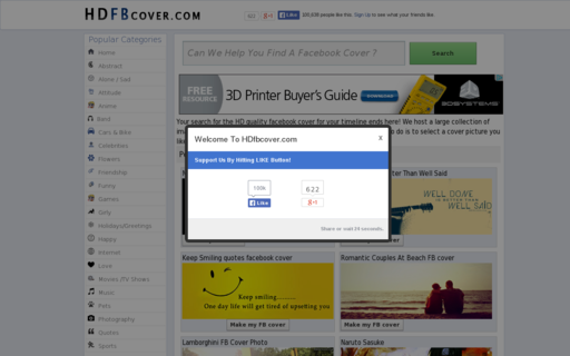 Access hdfbcover.com using Hola Unblocker web proxy