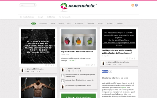 Access healthaholic.se using Hola Unblocker web proxy