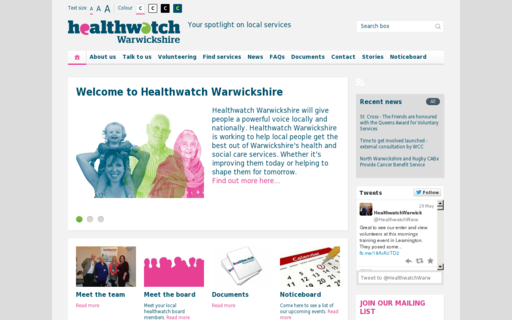 Access healthwatchwarwickshire.co.uk using Hola Unblocker web proxy