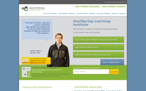 Access heatspring.com using Hola Unblocker web proxy