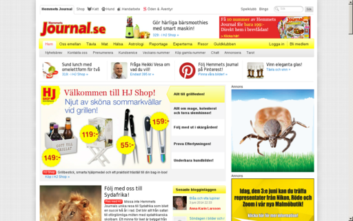 Access hemmetsjournal.se using Hola Unblocker web proxy
