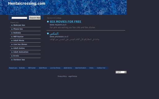 Access hentaicrossing.com using Hola Unblocker web proxy