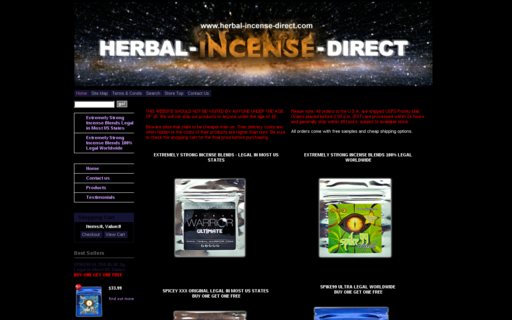 Access herbal-incense-direct.com using Hola Unblocker web proxy