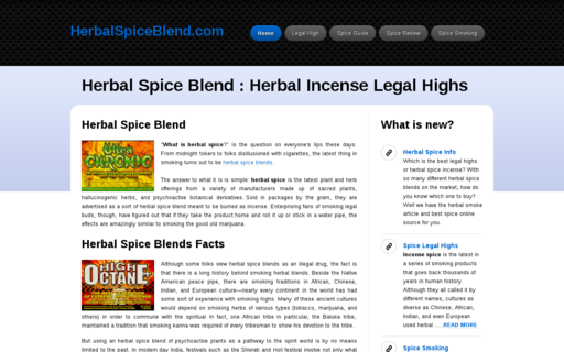 Access herbalspiceblend.com using Hola Unblocker web proxy
