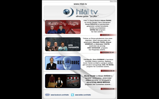 Access hilaltv.org using Hola Unblocker web proxy