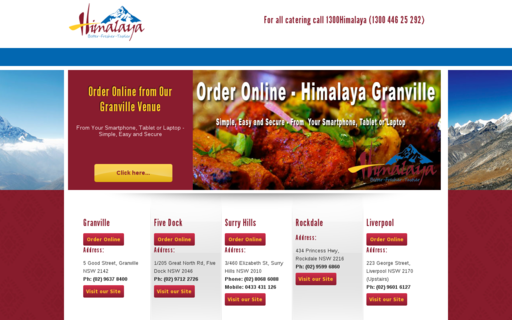 Access himalayarestaurant.com.au using Hola Unblocker web proxy