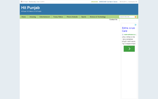 Access hitpunjab.net using Hola Unblocker web proxy