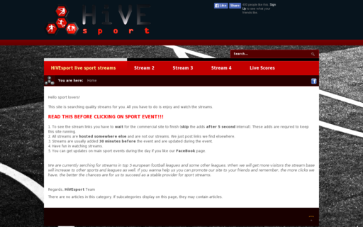 Access hivesport.com using Hola Unblocker web proxy