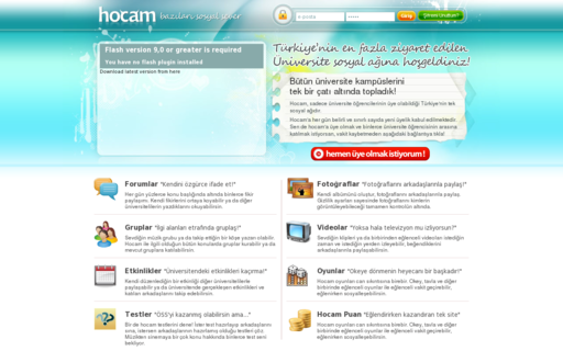 Access hocam.com using Hola Unblocker web proxy