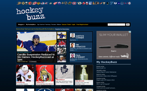 Access hockeybuzz.com using Hola Unblocker web proxy