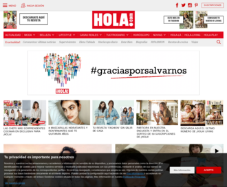 Access hola.com using Hola Unblocker web proxy