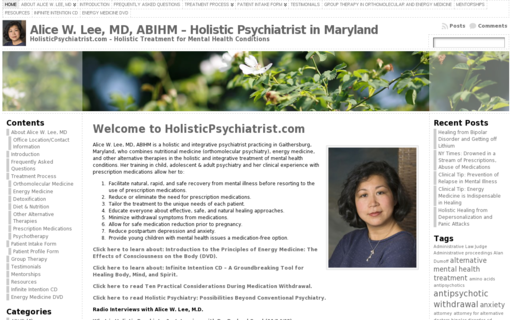 Access holisticpsychiatrist.com using Hola Unblocker web proxy