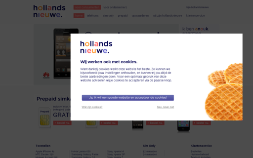 Access hollandsnieuwe.nl using Hola Unblocker web proxy
