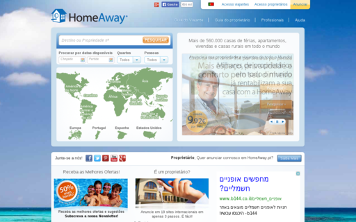 Access homeaway.pt using Hola Unblocker web proxy