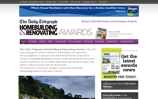 Access homebuildingawards.co.uk using Hola Unblocker web proxy