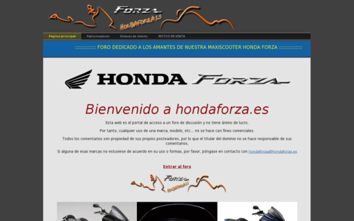 Access hondaforza.es using Hola Unblocker web proxy