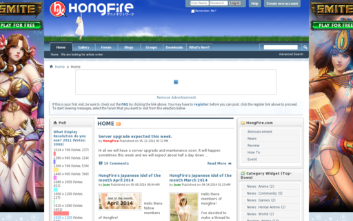 Access hongfire.com using Hola Unblocker web proxy