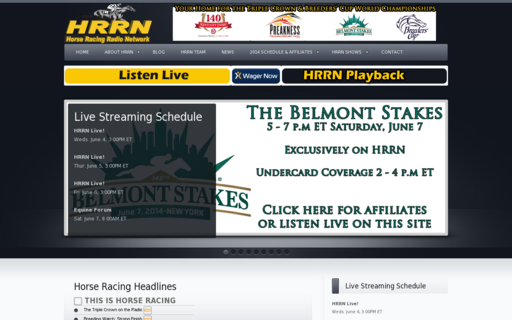 Access horseracingradio.net using Hola Unblocker web proxy