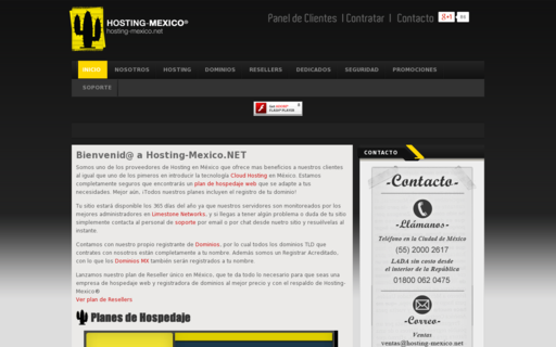 Access hosting-mexico.net using Hola Unblocker web proxy