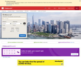 Access hotels.com using Hola Unblocker web proxy