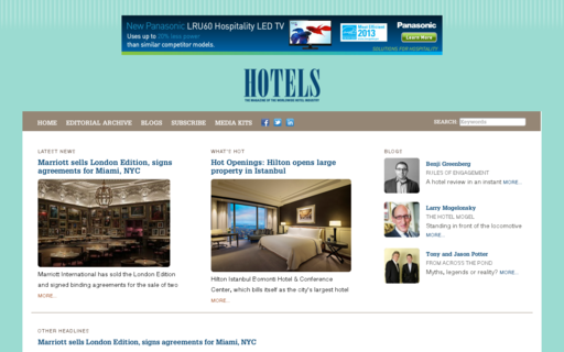 Access hotelsmag.com using Hola Unblocker web proxy