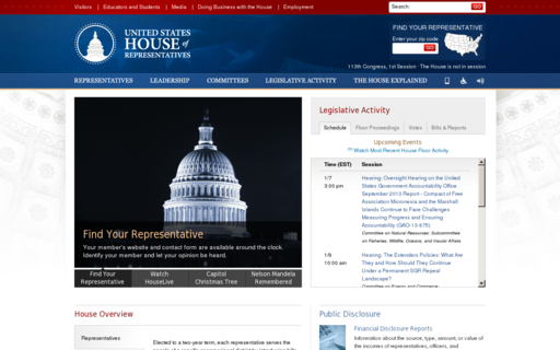 Access house.gov using Hola Unblocker web proxy