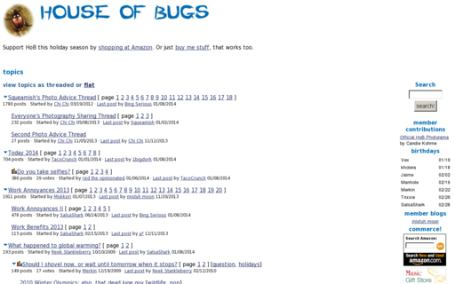 Access houseofbugs.com using Hola Unblocker web proxy