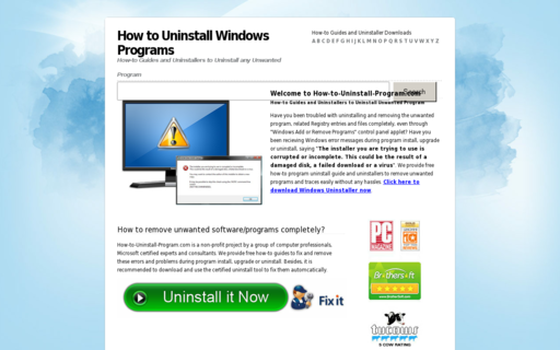 Access how-to-uninstall-program.com using Hola Unblocker web proxy