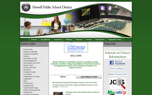 Access howellschools.com using Hola Unblocker web proxy