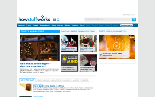Access howstuffworks.com using Hola Unblocker web proxy