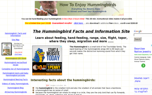 Access howtoenjoyhummingbirds.com using Hola Unblocker web proxy