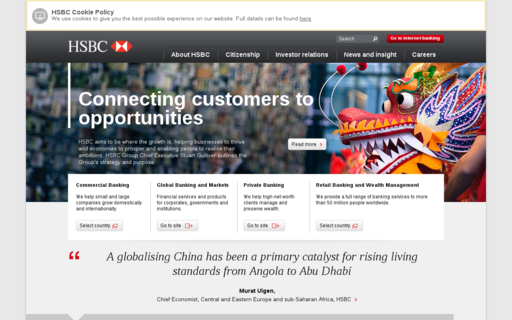 Access hsbc.com using Hola Unblocker web proxy