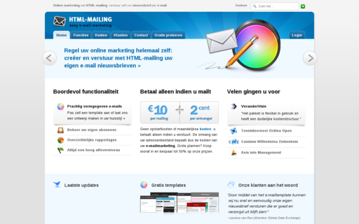 Access html-mailing.nl using Hola Unblocker web proxy