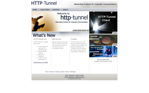 Access http-tunnel.com using Hola Unblocker web proxy
