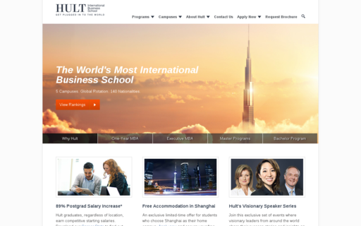 Access hult.edu using Hola Unblocker web proxy