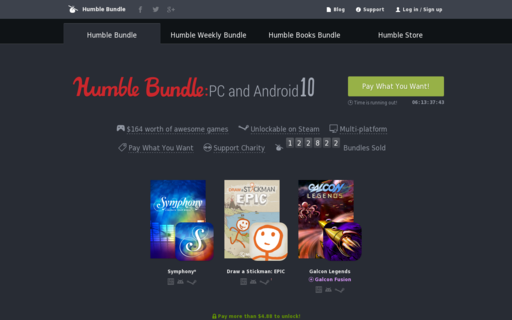 Access humblebundle.com using Hola Unblocker web proxy