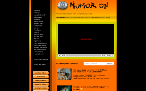 Access humoron.com using Hola Unblocker web proxy