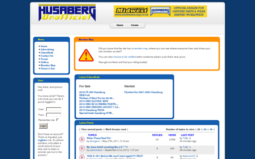 Access husaberg.org using Hola Unblocker web proxy