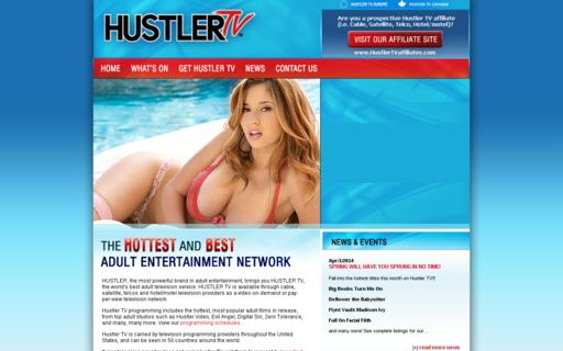 Access hustlertv.com using Hola Unblocker web proxy