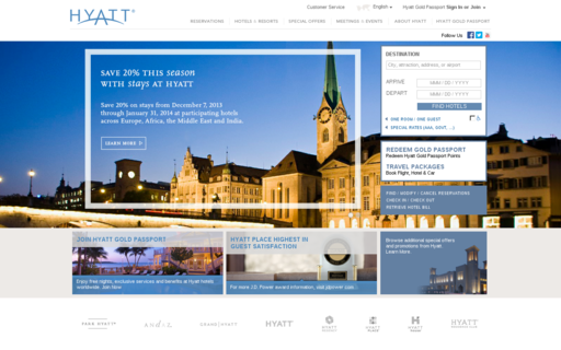 Access hyatt.com using Hola Unblocker web proxy