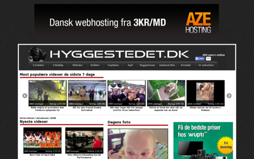 Access hyggestedet.dk using Hola Unblocker web proxy