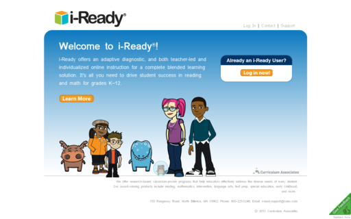 Access i-ready.com using Hola Unblocker web proxy