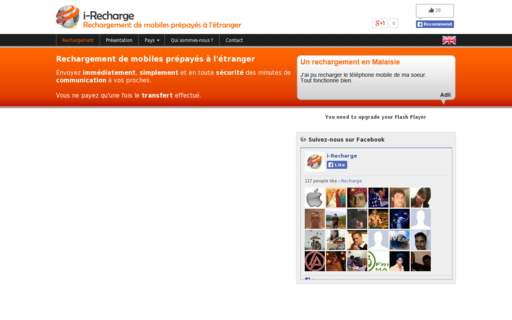 Access i-recharge.com using Hola Unblocker web proxy