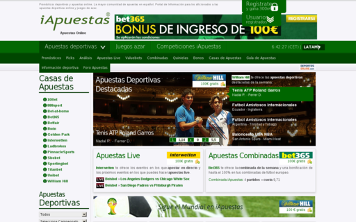 Access iapuestas.com using Hola Unblocker web proxy
