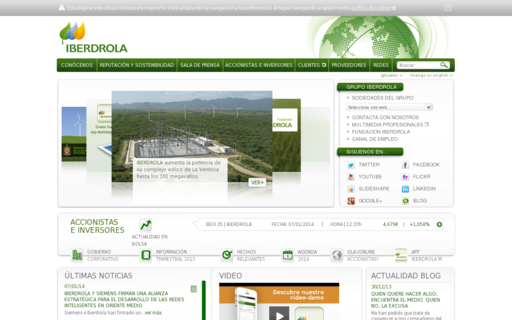 Access iberdrola.com using Hola Unblocker web proxy