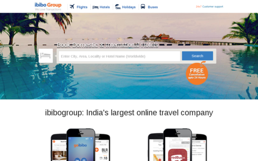 Access ibibo.com using Hola Unblocker web proxy
