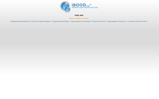 Access ibood.com using Hola Unblocker web proxy