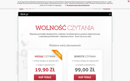 Access ibuk.pl using Hola Unblocker web proxy